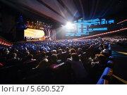 Купить «Зрители в зале Большого Кремлёвского дворца смотрят концерт», фото № 5650527, снято 14 октября 2012 г. (c) Losevsky Pavel / Фотобанк Лори