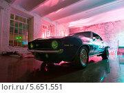 """Купить «Автомобиль """"Chevrolet Camaro SS"""" выпуска 1969 года», фото № 5651551, снято 23 октября 2010 г. (c) Losevsky Pavel / Фотобанк Лори"""