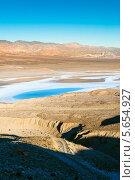 Солёное озеро в Долине Смерти (2013 год). Стоковое фото, фотограф Aleksandr Stzhalkovski / Фотобанк Лори