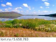 Зеркальное озеро Учум. Стоковое фото, фотограф Нина Шнянина / Фотобанк Лори