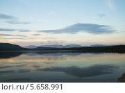 Горы на закате. Стоковое фото, фотограф Мещеряков Александр / Фотобанк Лори