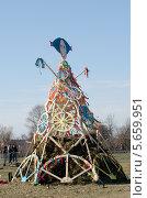 Купить «Масленица. Народные гулянья», фото № 5659951, снято 1 марта 2014 г. (c) Андрей Апрельский / Фотобанк Лори