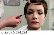 Купить «Макияж глаз», видеоролик № 5694291, снято 10 февраля 2014 г. (c) Иван Артемов / Фотобанк Лори