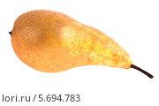 Купить «Груша на белом фоне», фото № 5694783, снято 25 мая 2013 г. (c) Литвяк Игорь / Фотобанк Лори