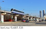 Купить «Городской транспорт. Москва», фото № 5697131, снято 10 марта 2014 г. (c) Валерия Попова / Фотобанк Лори