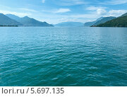 Купить «Озеро Комо летом. Вид с борта судна. Италия», фото № 5697135, снято 15 июня 2012 г. (c) Юрий Брыкайло / Фотобанк Лори