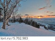 Купить «Пейзаж острова Сахалин», фото № 5702983, снято 2 марта 2014 г. (c) Игорь Симановский / Фотобанк Лори