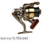 Рыболовная катушка. Стоковое фото, фотограф Сергей Видинеев / Фотобанк Лори