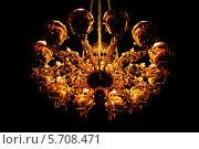 Купить «Золотая люстра», фото № 5708471, снято 6 мая 2012 г. (c) Олег Прокофьев / Фотобанк Лори