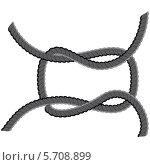 Купить «Петля из веревки», иллюстрация № 5708899 (c) Анна Павлова / Фотобанк Лори