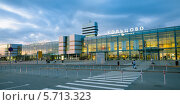 Купить «Международный аэропорт Кольцово, Екатеринбург», фото № 5713323, снято 4 сентября 2013 г. (c) Архипова Мария / Фотобанк Лори