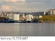 Купить «Североморск.Вид с Кольского залива.», фото № 5719687, снято 10 июня 2009 г. (c) Андрей Субач / Фотобанк Лори
