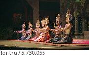 Купить «Выступление в театре Камбоджи», видеоролик № 5730055, снято 7 февраля 2014 г. (c) pzAxe / Фотобанк Лори