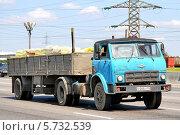 Грузовик МАЗ-504В (2012 год). Редакционное фото, фотограф Art Konovalov / Фотобанк Лори