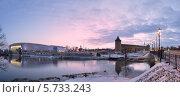 Вид на Маринкину башню и Ледовый дворец в Коломне (2014 год). Стоковое фото, фотограф Алексей Сергевич / Фотобанк Лори