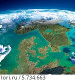 Купить «Фрагменты планеты Земля. Дания, Норвегия и Швеция», иллюстрация № 5734663 (c) Антон Балаж / Фотобанк Лори