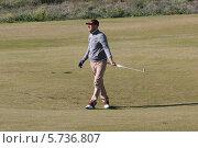 Гольф игрок (2014 год). Редакционное фото, фотограф Валерий Волобоев / Фотобанк Лори