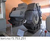 Купить «Немецкий противоминный трал в бронетанковом музее, Кубинка», фото № 5753251, снято 23 февраля 2014 г. (c) Владимир Горощенко / Фотобанк Лори
