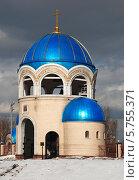 Купить «Звонница собора Троицы Живоначальной в Орехове-Борисове в Москве», эксклюзивное фото № 5755371, снято 23 марта 2009 г. (c) lana1501 / Фотобанк Лори