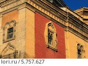 Купить «Угол дома ,бывшая церковь св.Александра Невского», фото № 5757627, снято 28 марта 2014 г. (c) Федюнин Александр / Фотобанк Лори