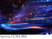 """Церемония открытия XXII зимних Олимпийских игр в Сочи 7 февраля 2014, """"Олимпийские боги"""" Редакционное фото, фотограф Алексей Гусев / Фотобанк Лори"""