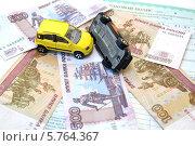 Купить «Штраф за ДТП», фото № 5764367, снято 1 апреля 2014 г. (c) Ирина Борсученко / Фотобанк Лори