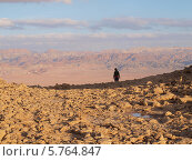 Израиль. Пустыня Негев, вид на Иорданию (2010 год). Стоковое фото, фотограф Анастасия Виноградова / Фотобанк Лори