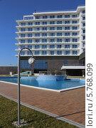 Купить «Отель Radisson Blu Paradise Resort & Spa, Сочи», эксклюзивное фото № 5768099, снято 15 февраля 2014 г. (c) Алексей Гусев / Фотобанк Лори