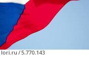 Купить «Флаг Чехии», видеоролик № 5770143, снято 29 марта 2014 г. (c) Данил Руденко / Фотобанк Лори