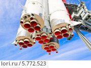 """Фрагмент ракеты-носителя """"Восток"""" (2011 год). Редакционное фото, фотограф Алёшина Оксана / Фотобанк Лори"""