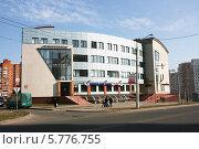 Купить «Офисное здание, Минск, Беларусь», фото № 5776755, снято 30 марта 2014 г. (c) Марина Шатерова / Фотобанк Лори