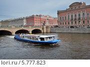Купить «Фонтанка. Аничков мост», эксклюзивное фото № 5777823, снято 5 апреля 2014 г. (c) Александр Алексеев / Фотобанк Лори