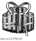 Купить «Спасательный жилет. Иллюстрация 1910 года», иллюстрация № 5779311 (c) Sergey Kohl / Фотобанк Лори