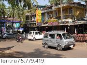 Транспорт в Гоа, Индия (2013 год). Редакционное фото, фотограф Вячеслав Строганов / Фотобанк Лори