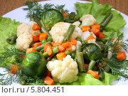 Вегетарианская еда, цветные овощи. Стоковое фото, фотограф Ирина Еськина / Фотобанк Лори