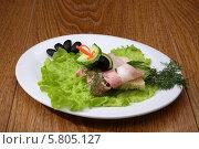 Бутерброд с нарезкой. Стоковое фото, фотограф Ирина Еськина / Фотобанк Лори