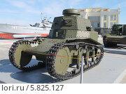 Легкий танк МС-1 (Т-18) в музее техники УГМК (2014 год). Редакционное фото, фотограф Андрей / Фотобанк Лори