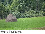 Копна. Стоковое фото, фотограф Юрий Зотов / Фотобанк Лори