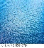 Купить «Водная поверхность с рябью», фото № 5858679, снято 11 июня 2011 г. (c) g.bruev / Фотобанк Лори