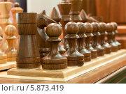 Купить «Строй шахматных фигур», фото № 5873419, снято 15 марта 2014 г. (c) Сергей Неудахин / Фотобанк Лори