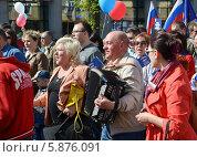 1 мая (2014 год). Редакционное фото, фотограф Любовь Белоусова / Фотобанк Лори