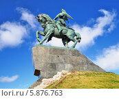 Купить «Памятник Салавату Юлаеву в Уфе, Башкирия», фото № 5876763, снято 1 октября 2010 г. (c) Михаил Марковский / Фотобанк Лори
