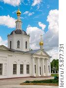 Купить «Богоявленский собор, город Орел, Россия», фото № 5877731, снято 6 мая 2014 г. (c) Ласточкин Евгений / Фотобанк Лори
