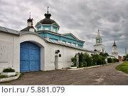 Бобренев монастырь (2013 год). Стоковое фото, фотограф Александр Гаценко / Фотобанк Лори