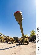 """Купить «152-мм буксируемая гаубица """"МСТА-Б""""», фото № 5884235, снято 15 июня 2019 г. (c) FotograFF / Фотобанк Лори"""