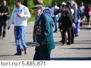Купить «День Победы в Москве», фото № 5885871, снято 9 мая 2014 г. (c) Okssi / Фотобанк Лори
