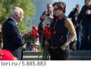 Купить «День Победы в Москве», фото № 5885883, снято 9 мая 2014 г. (c) Okssi / Фотобанк Лори