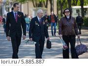 Купить «День Победы в Москве», фото № 5885887, снято 9 мая 2014 г. (c) Okssi / Фотобанк Лори