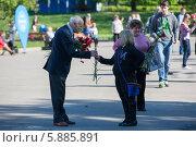 Купить «День Победы в Москве», фото № 5885891, снято 9 мая 2014 г. (c) Okssi / Фотобанк Лори