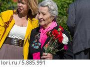 Купить «9 мая в Москве», фото № 5885991, снято 9 мая 2014 г. (c) Okssi / Фотобанк Лори